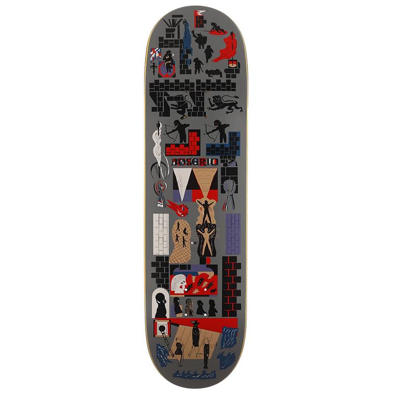 Polar Nick Boserio Gnarhammer Skateboard Deck 8.625