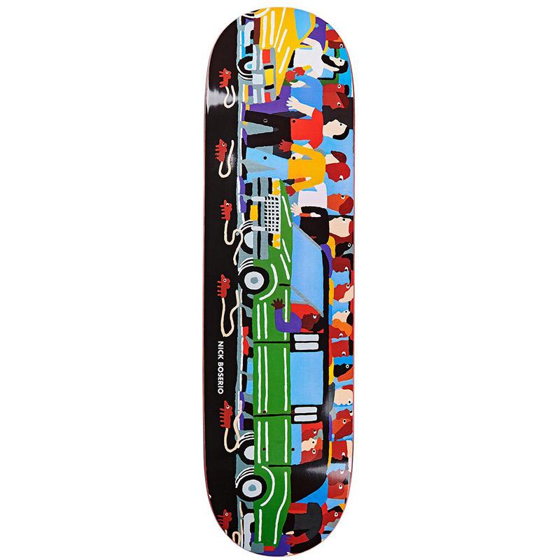 Polar Nick Boserio Limo Skateboard Deck 8.625