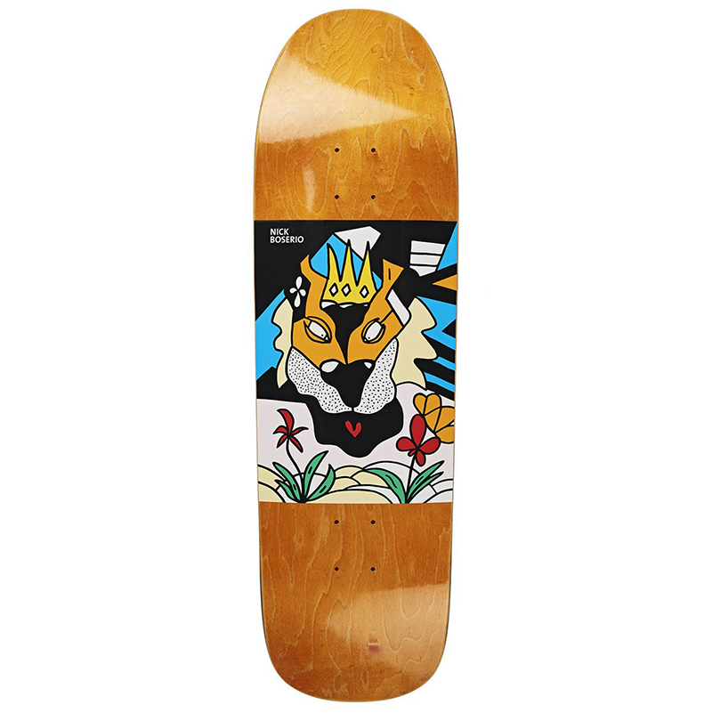 Polar Nick Boserio Lion King Skateboard Deck 1991 9.25