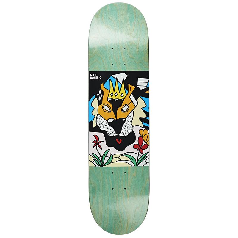 Polar Nick Boserio Lion King Skateboard Deck 8.4