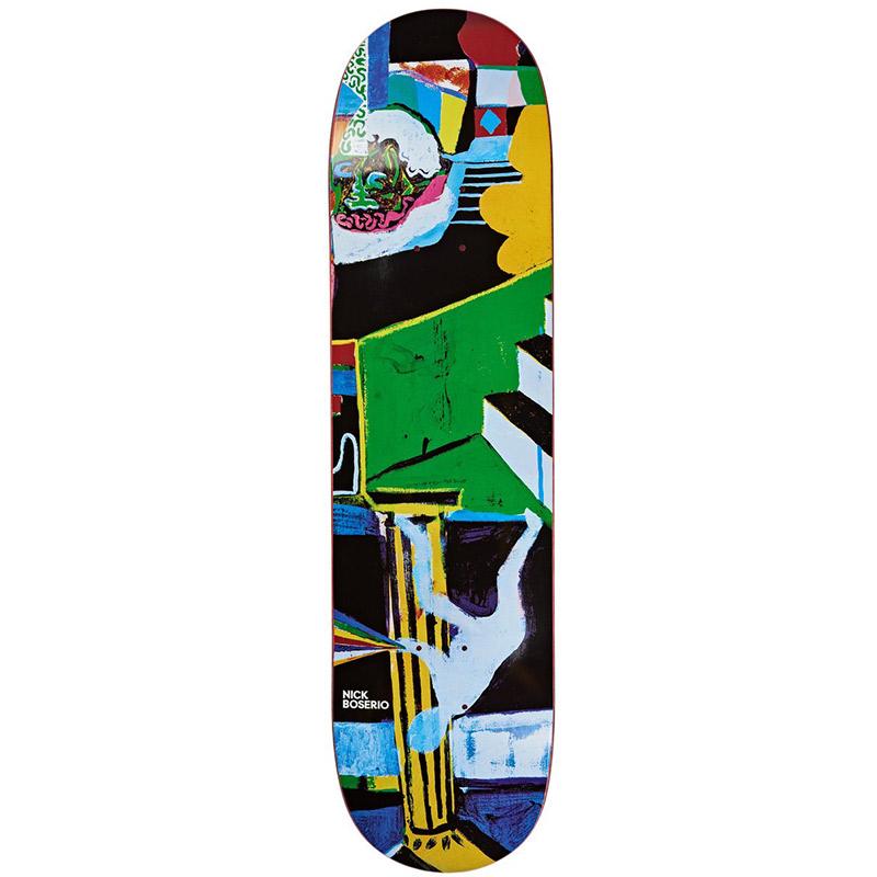 Polar Nick Boserio Memory Palace Skateboard Deck 8.0