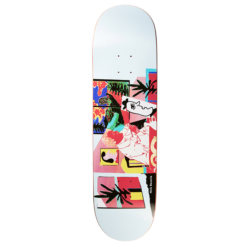Polar Nick Boserio The Artist Skateboard Deck 8.625