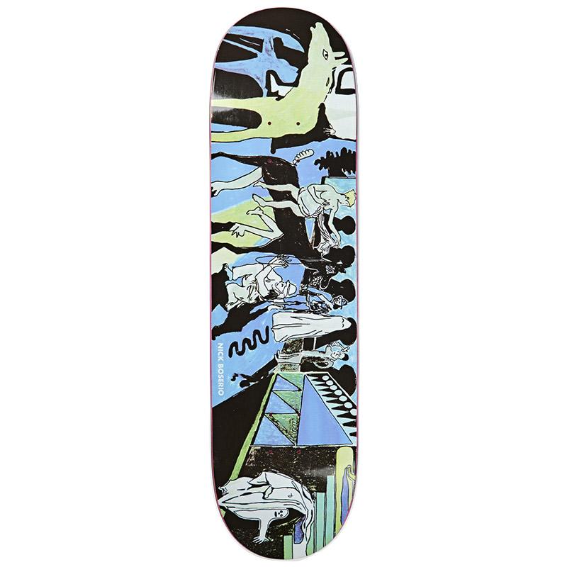 Polar Nick Boserio The Riders Skateboard Deck 8.5