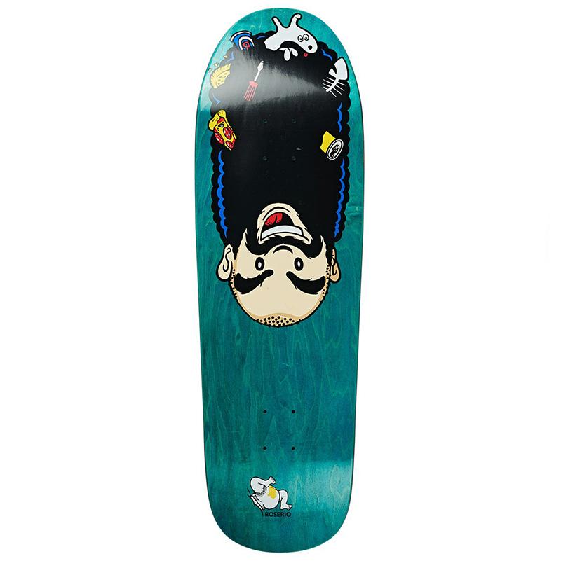 Polar Nick Boserio Upside Down Skateboad Deck Beast 9.75