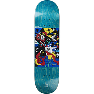 Polar Oscar Rozenberg Underwater Kingdom Skateboard Deck 8.25