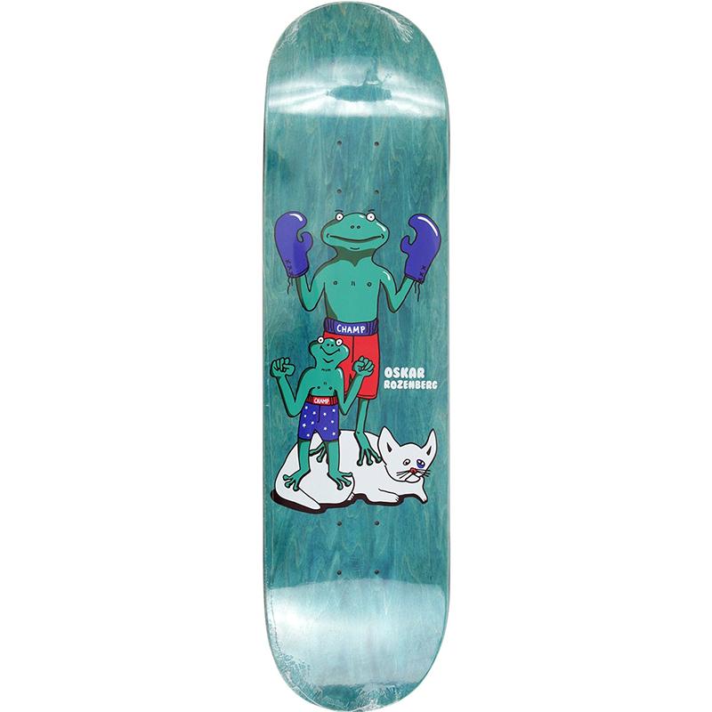 Polar Oskar Rozenberg Champ Champ Skateboard Deck 8.25