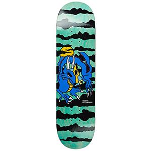 Polar Oskar Rozenberg Dragon Sunset Blue Skateboard Deck 8.25