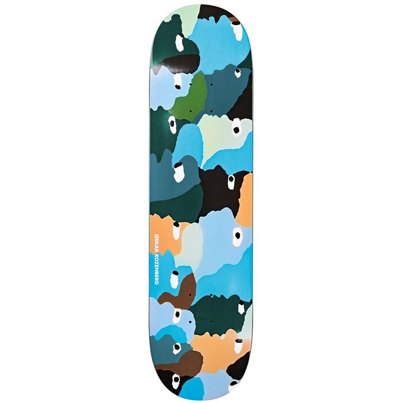Polar Oskar Rozenberg Heads Skateboard Deck 8.0