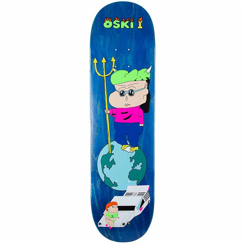 Polar Oskar Rozenberg Oski 1 Skateboard Deck 8.25