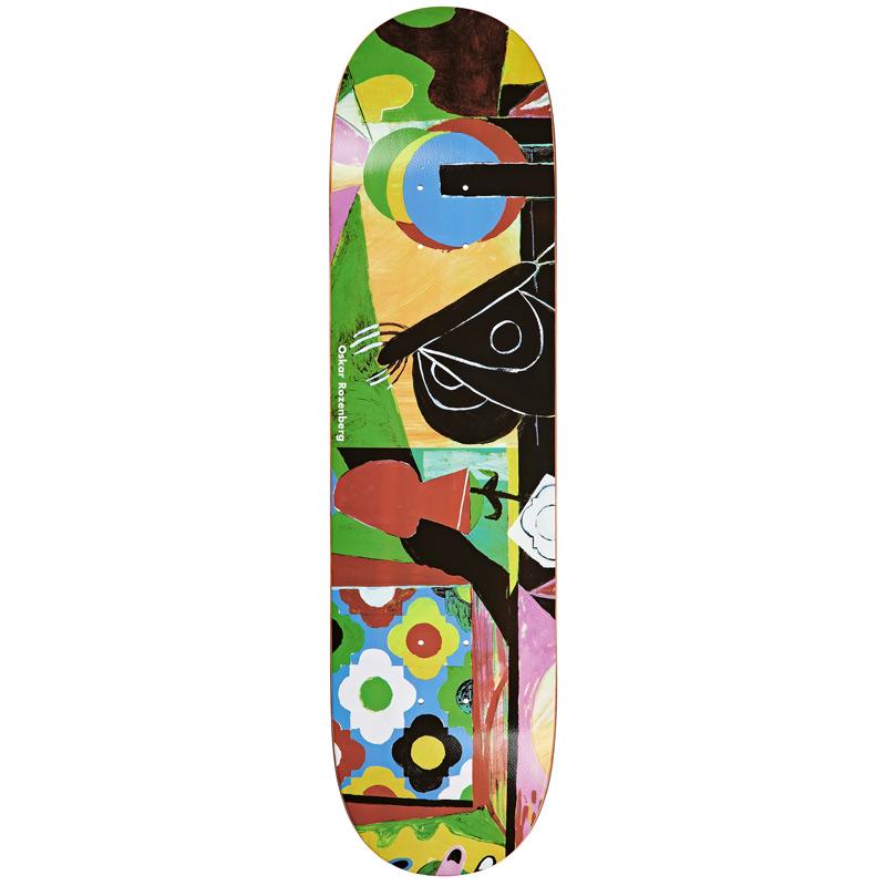 Polar Oskar Rozenberg Vase & Moth Everslick Skateboard Deck 8.25