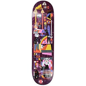 Polar Paul Grund Frequency Skateboard Deck Assorted Colours 8.25