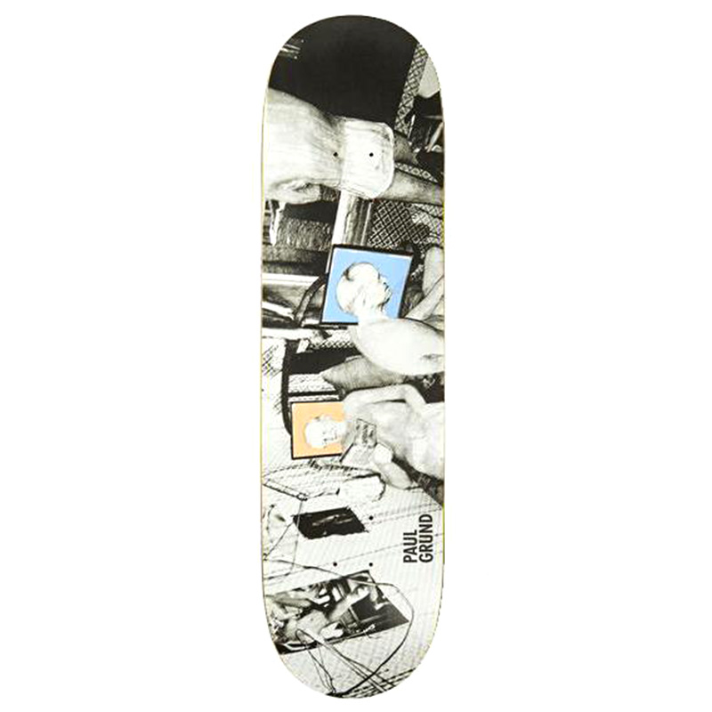 Polar Paul Grund Man Cave Skateboard Deck 8.125