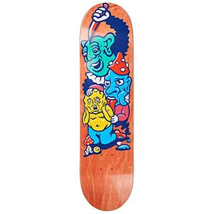 Polar Paul Grund Meltdown Skateboard Deck Assorted Colours 8.125