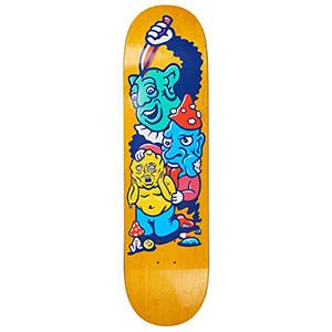 Polar Paul Grund Meltdown Skateboard Deck Assorted Colours 8.38