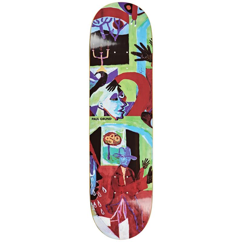 Polar Paul Grund Moth House Skateboard Deck 8.375