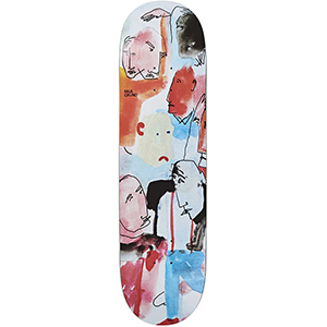 Polar Paul Grund Multi Personality Skateboard Deck 8.5