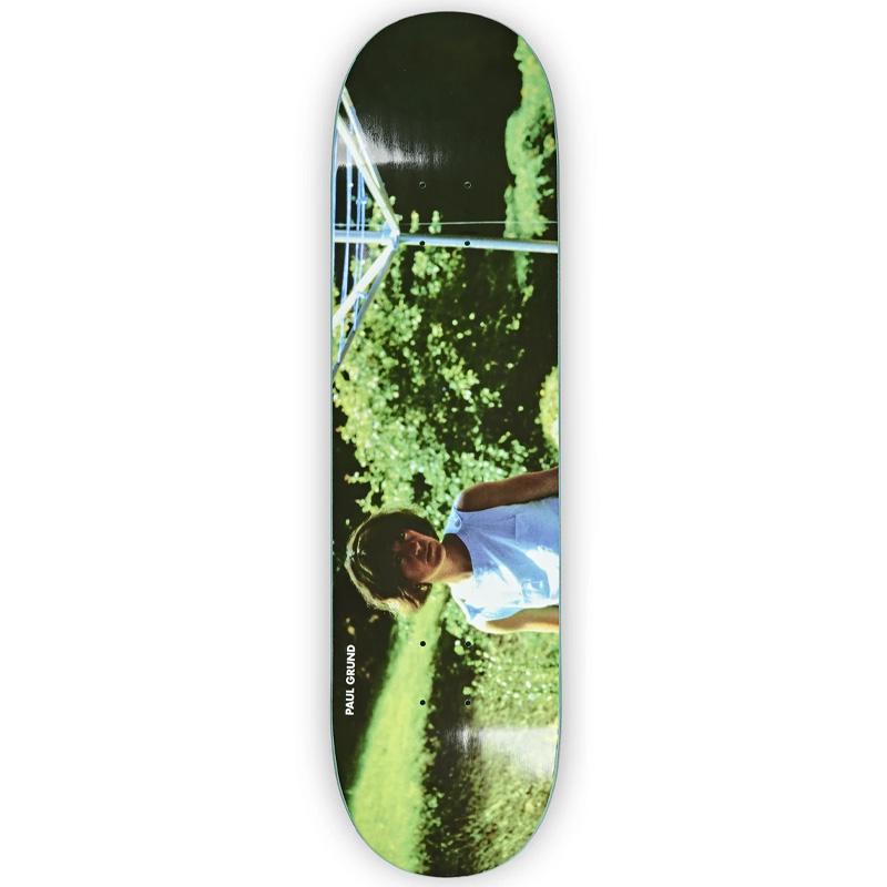 Polar Paul Grund Nicole Skateboard Deck Black 8.0