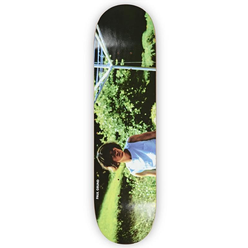Polar Paul Grund Nicole Slick Skateboard Deck Black 8.25