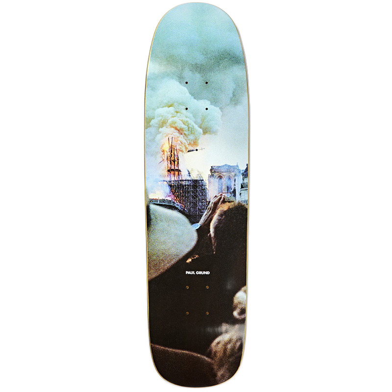 Polar Paul Grund Notre Dame P9 Shape Skateboard Deck 8.625