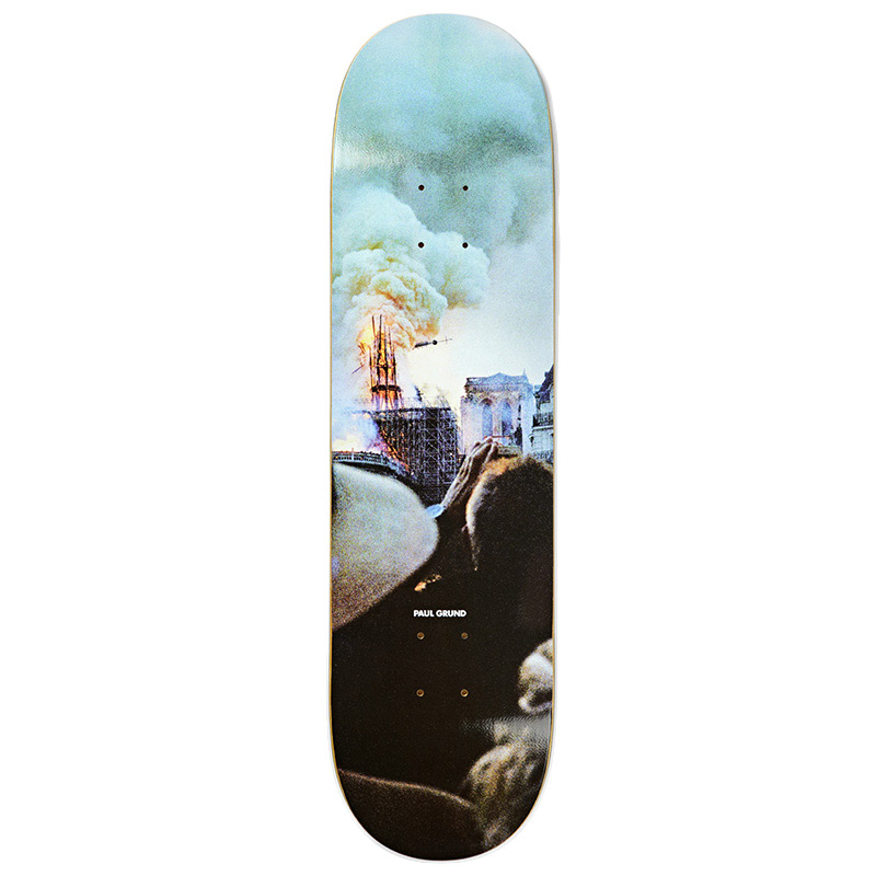 Polar Paul Grund Notre Dame Skateboard Deck 8.0