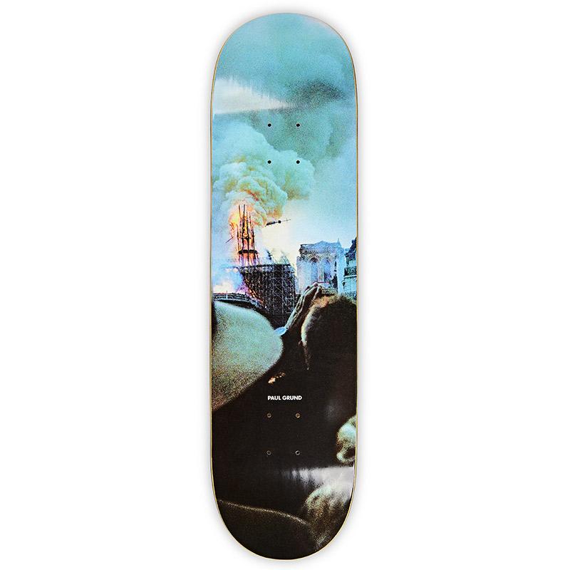 Polar Paul Grund Notre Dame Skateboard Deck 8.25