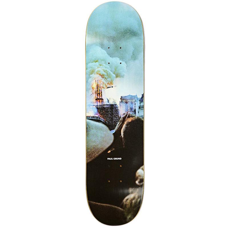 Polar Paul Grund Notre Dame Slick Skateboard Deck 8.5