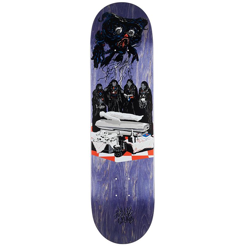 Polar Paul Grund Sleep Paralysis Skateboard Deck 8.125