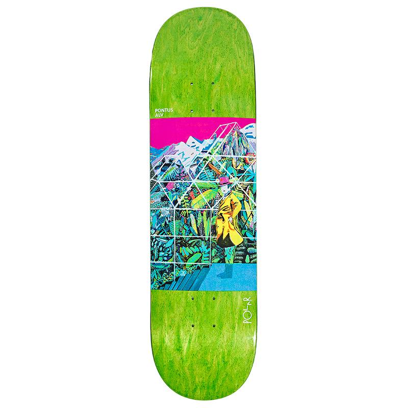 Polar Pontus Alv Garden Skateboard Deck 8.375