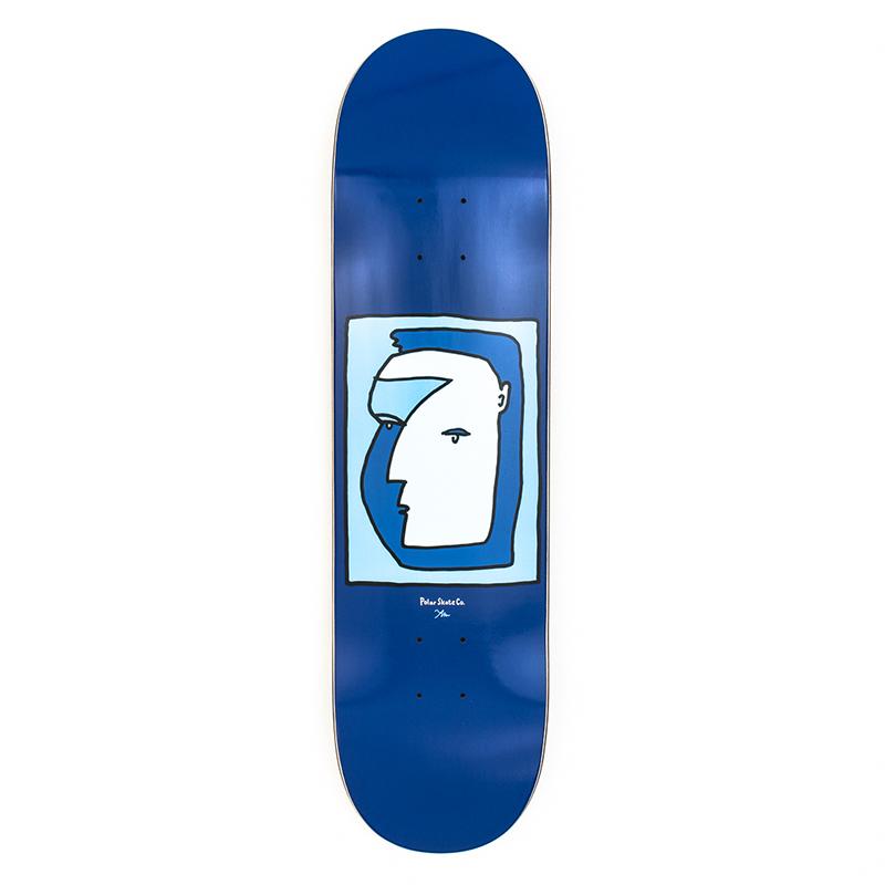 Polar Pontus Alv Self Portrait Skateboard Deck 8.25