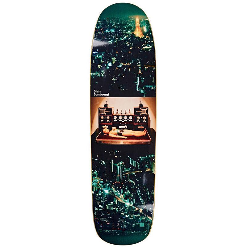 Polar Shin Sanbongi Astro Boy P9 Shape Skateboard Deck 8.625