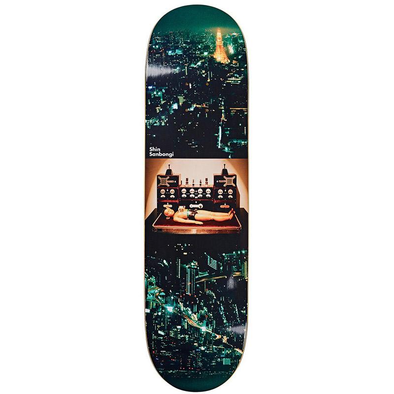Polar Shin Sanbongi Astro Boy Skateboard Deck 8.5
