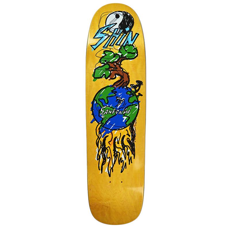 Polar Shin Sanbongi Bonzai Ride P9 Shape Skateboard Deck 8.625