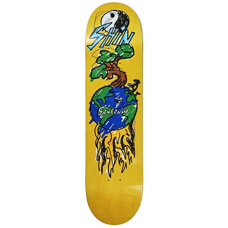 Polar Shin Sanbongi Bonzai Ride Skateboard Deck 7.875