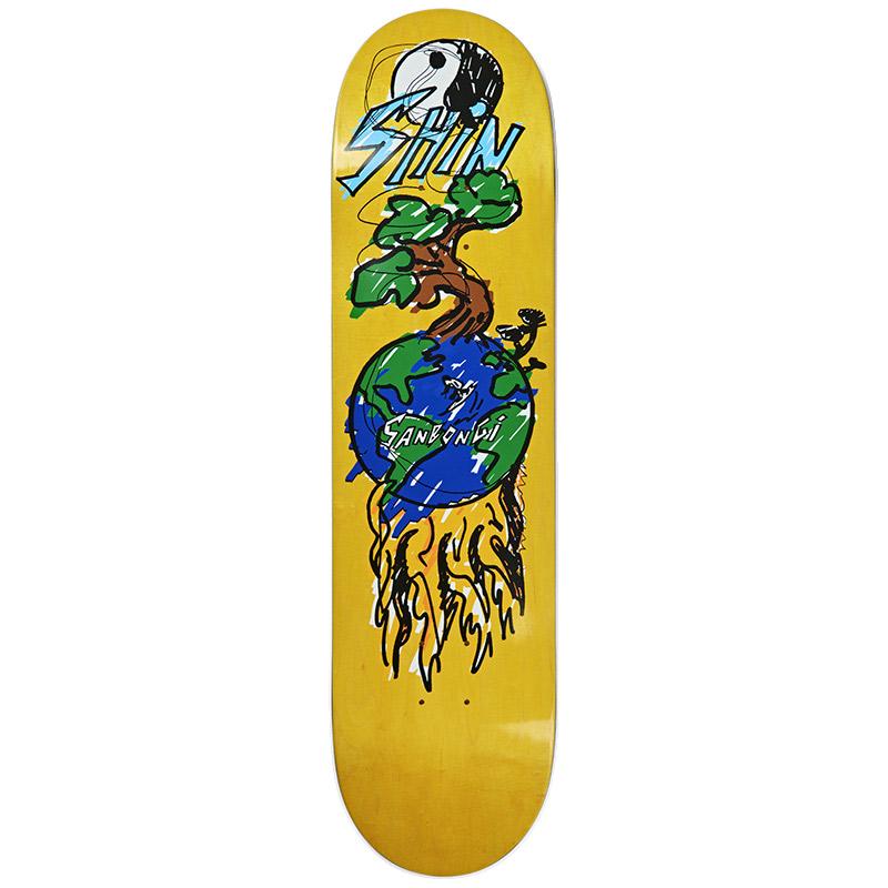 Polar Shin Sanbongi Bonzai Ride Skateboard Deck 8.125