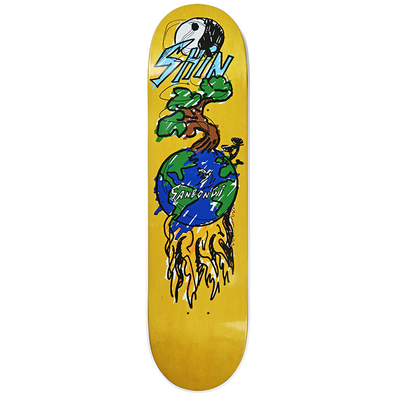 Polar Shin Sanbongi Bonzai Ride Skateboard Deck 8.5