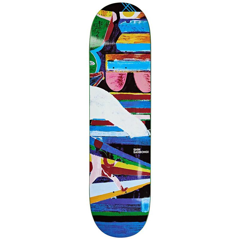 Polar Shin Sanbongi Memory Palace Skateboard Deck 8.25