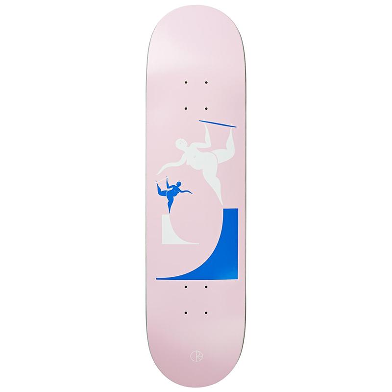 Polar Team Backside Boneless Skateboard Deck 8.4