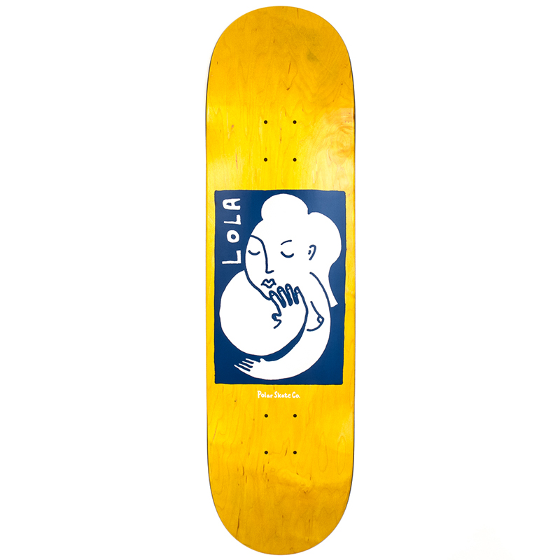 Polar Team Model Lola Skateboard Deck 8.125