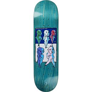 Polar Team Where Do We Go From Here Skateboard Deck 8.125