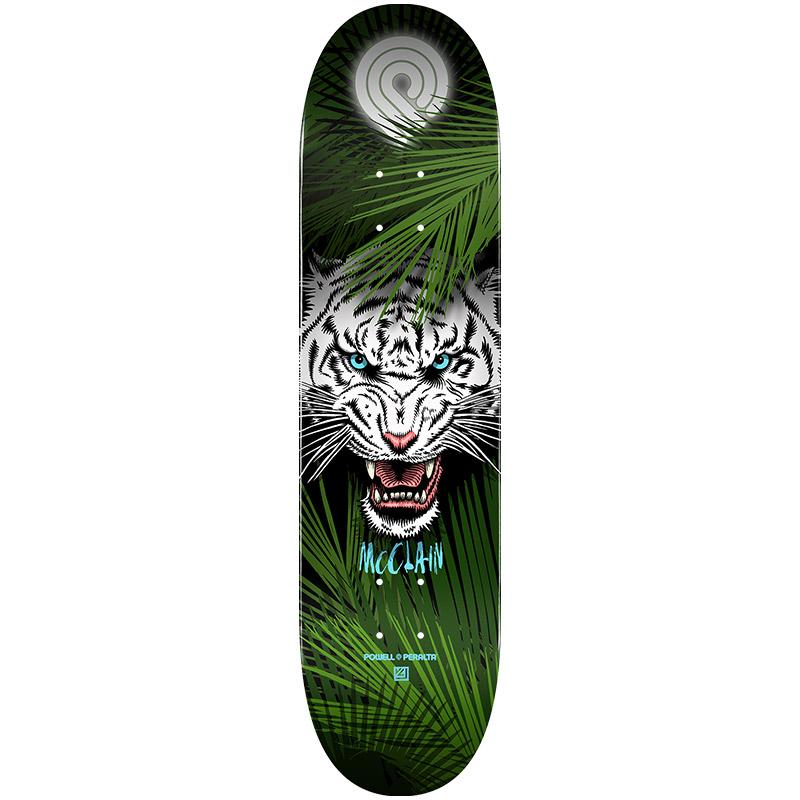 Powell Peralta Brad McClain Tiger Skateboard Deck Shape 243 8.25