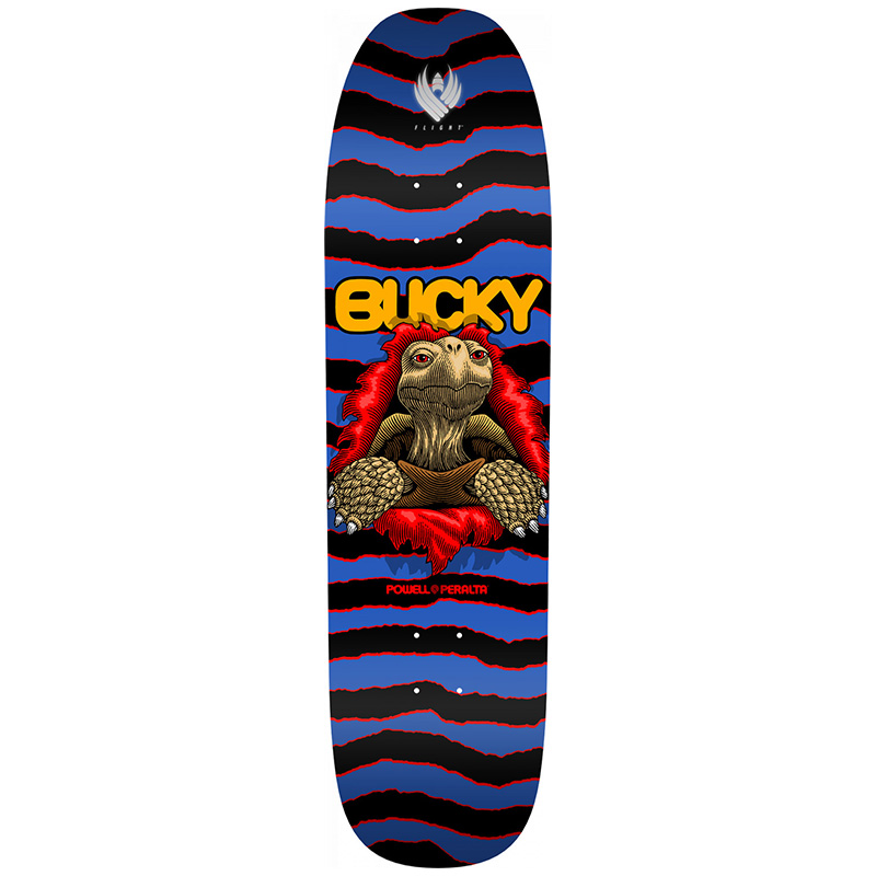 Powell Peralta Bucky Lasek Tortoise Flight Skateboard Deck Shape 297 8.62