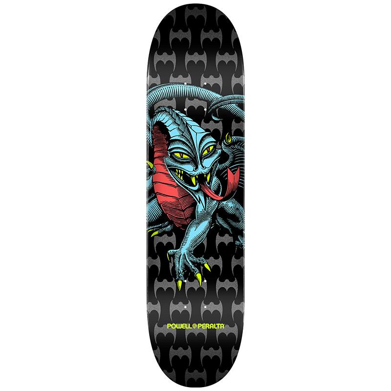 Powell Peralta Cab Dragon Skateboard Deck Shape 291 Black 7.75
