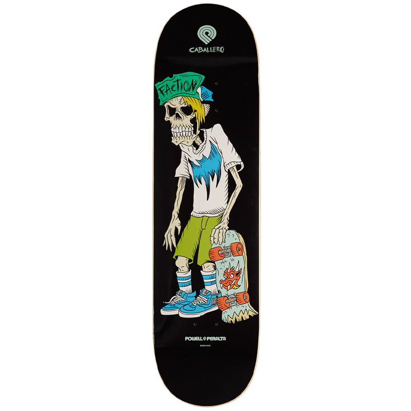 Powell Peralta Caballero Faction Skateboard Deck Shape 243 8.25