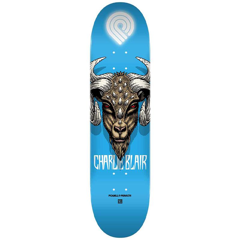 Powell Peralta Charlie Blair Goat 2 Skateboard Deck Shape 243 8.25