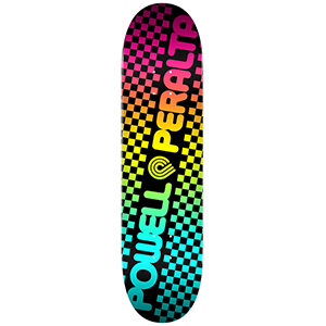 Powell Peralta Checker Colby Fade Skateboard Deck 7.75