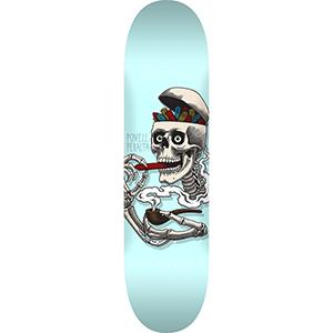 Powell Peralta Curb Skelly Skateboard Deck Blue 8.0