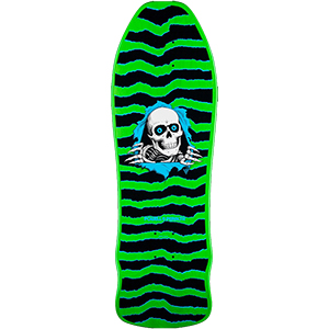 Powell Peralta Gee Gah Ripper Skateboard Deck Green 9.75
