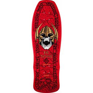 Powell Peralta Gee Gah Welinder Classic Skateboard Deck Red 9.75