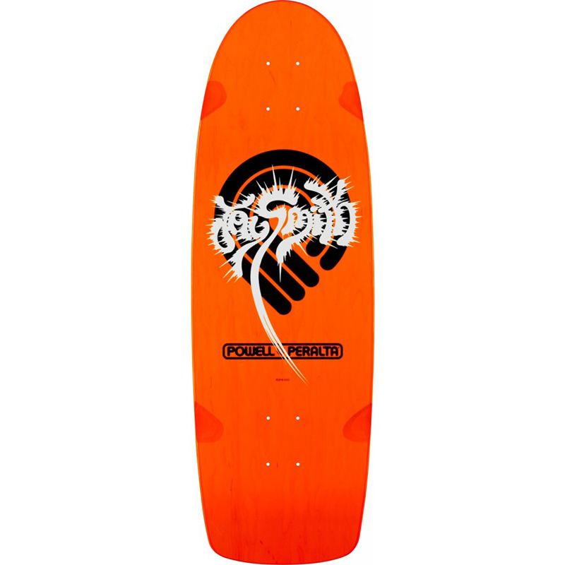 Powell Peralta Jay Smith Original Skateboard Deck Orange 10.0