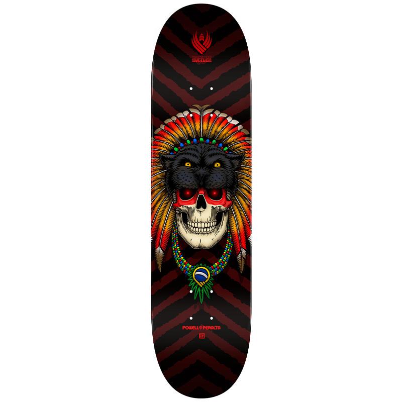 Powell Peralta Kelvin Hoefler Skull Flight Skateboard Deck 247 8.0